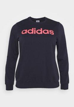 adidas Performance - ESSENTIALS PRIMEGREEN SPORTS - Sweatshirt - legend ink/signal pink