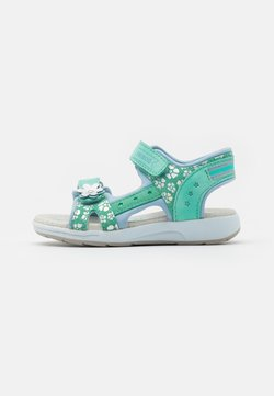 Friboo - LEATHER - Riemensandalette - mint