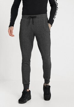 Jack & Jones - JJIWILL JJCLEAN PANTS - Jogginghose - dark grey melange