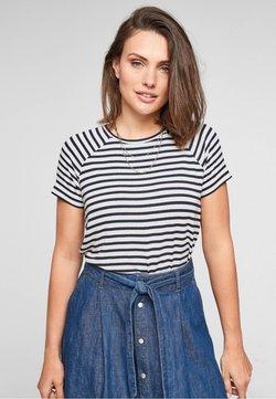 s.Oliver - T-Shirt print - navy stripes