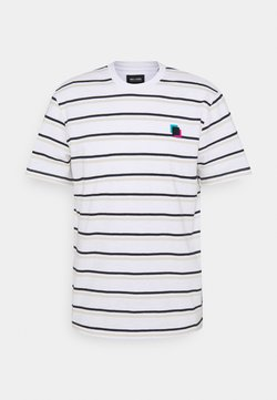 Only & Sons - ONSVILLEM LIFE TEE - T-Shirt print - white
