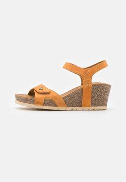 Panama Jack - JULIA BASICS  - Platform sandals - vintage