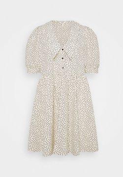 Object Petite - OBJNOUR DRESS - Vestido camisero - sandshell