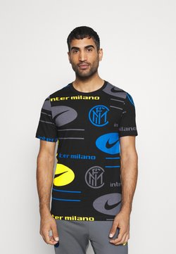 Nike Performance - INTER MAILAND TEE TRAVEL - Fanartikel - black