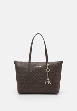 Calvin Klein - MONOGRAM - Handbag - brown