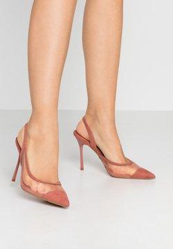 Topshop - FATE COURT SHOE - High heels - nude