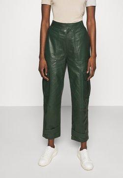 Samsøe Samsøe - CITRINA TROUSERS - Trousers - kambu green