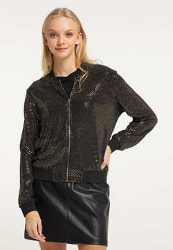 myMo at night - Bomberjacke - gold schwarz