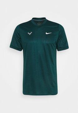 Nike Performance - RAFAEL NADAL CHALLENGER - T-Shirt print - atomic teal/white