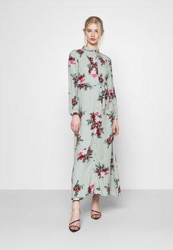 Vero Moda - VMNEWALLIE DRESS  - Maxiklänning - green milieu