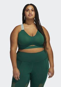 adidas Originals - Ivy Park Cut Out Bra Medium Support - Top - darkgreen
