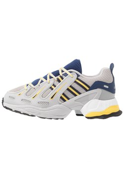 adidas Originals - EQT GAZELLE - Sneakers - grey two/legend ink/yellow