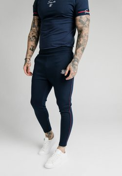 SIKSILK - EXPOSED TAPE JOGGER - Jogginghose - navy