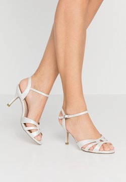 Paradox London Wide Fit - WIDE FIT HAIGAR - High heeled sandals - silver