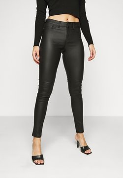 Pieces Petite - PCSHAPE UP PARO  - Jeans Skinny Fit - black