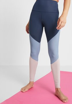 Onzie - HIGH RISE TRACK LEGGING - Tights - blue