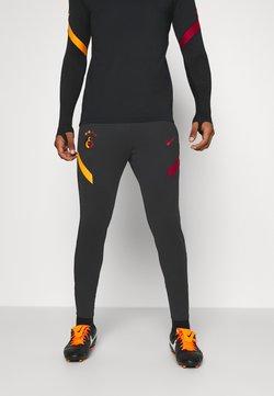 Nike Performance - GALATASARAY ISTANBUL DRY PANT - Vereinsmannschaften - black/vivid orange/pepper red