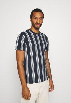 Topman - LUKE - T-shirt imprimé - navy