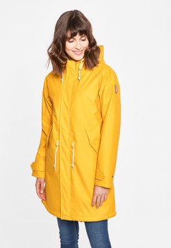 Derbe - TRAVEL COZY FRIESE RC - Parka - yellow