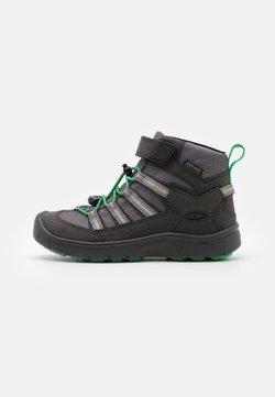 Keen - HIKEPORT 2 SPORT MID WP UNISEX - Outdoorschoenen - black/irish green