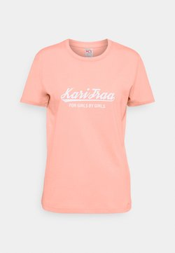 Kari Traa - MØLSTER TEE - T-shirts med print - light pink