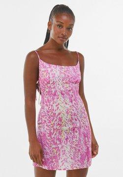 Bershka - Freizeitkleid - pink