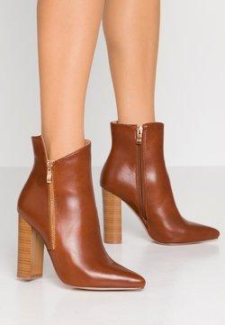 RAID - KEYLA - High heeled ankle boots - tan