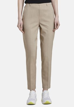 TOM TAILOR DENIM - MIT LOCKEREM BEIN - Chinot - beige melange