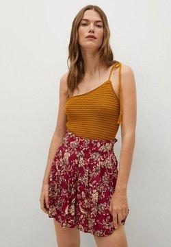 Mango - Shorts - rood