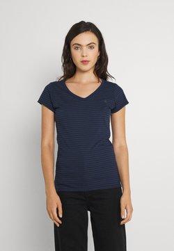 G-Star - EYBEN SLIM - T-Shirt print - sartho blue/black