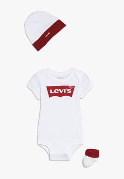 Levi's® - CLASSIC BATWING INFANT BABY SET - Body - white