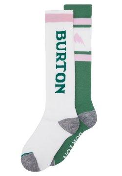 Burton - WEEKEND 2 PACK  - Sportsocken - white/green