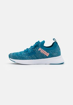 Puma - FLYER RUNNER ENGINEER - Chaussures de running neutres - digi blue/white/nrgy peach