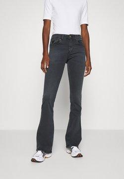 LOIS Jeans - MELROSE - Flared Jeans - black stone