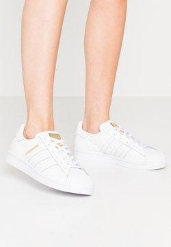 adidas Originals - SUPERSTAR - Sneakers laag - footwear white/gold metallic