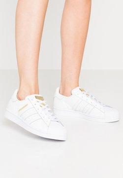 adidas Originals - SUPERSTAR - Sneakers - footwear white/gold metallic