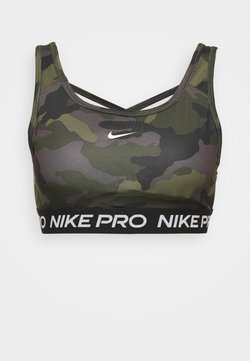 Nike Performance - BRA CAMO - Urheiluliivit - black/white