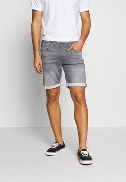 Jack & Jones - JJIRICK JJICON - Jeans Shorts - grey denim