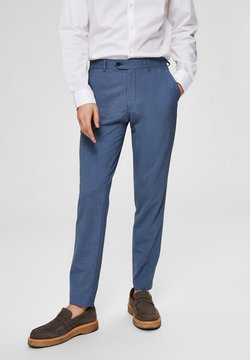 Selected Homme - SLIM FIT - Anzughose - dark blue