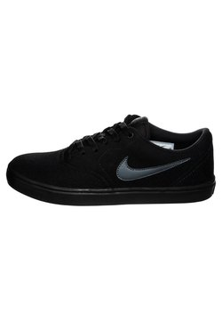 Nike SB - CHECK SOLARSOFT  - Sneaker low -  black/anthracite