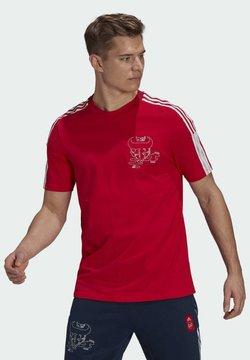 adidas Performance - ARSENAL LONDON CNY TEE - Print T-shirt - scarle