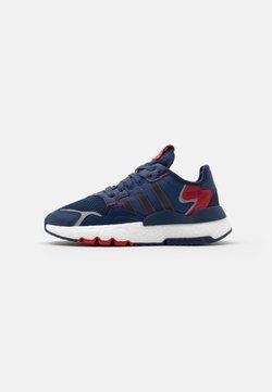 adidas Originals - NITE JOGGER BOOST SPORTS INSPIRED SHOES - Sneakersy niskie - tech indigo/collegiate navy/scarlet