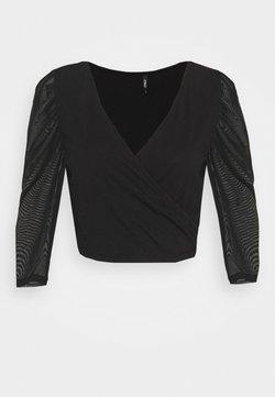 ONLY Petite - ONLLISE LIFE - T-shirt à manches longues - black