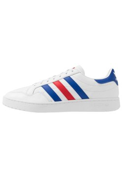 adidas Originals - TEAM COURT - Sneaker low - footwear white/royal blue/scarlet