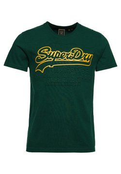 Superdry - VINTAGE LOGO EMBOSSED - T-shirt imprimé - mid pine