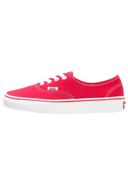 Vans - AUTHENTIC - Skateschuh - red