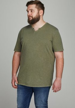 Jack & Jones - JJESPLIT - T-shirt basique - dusky green