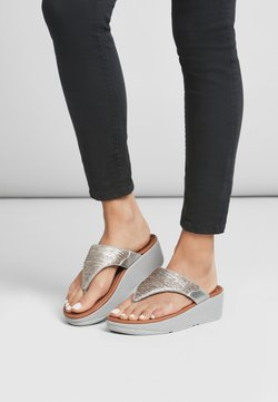 FitFlop - MYLA - Zehentrenner - silver