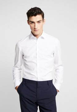 Calvin Klein Tailored - CONTRAST EASY IRON SLIM FIT SHIRT - Zakelijk overhemd - white