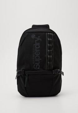 Superdry - COMBRAY SLIMLINE BACKPACK - Reppu - black
